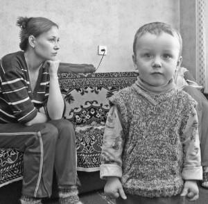 Про матерей одиночек в России.